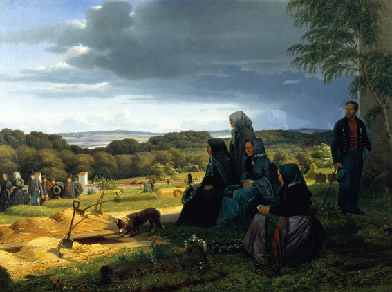 , 'En ligfærd,' 1859, ARoS Aarhus Art Museum