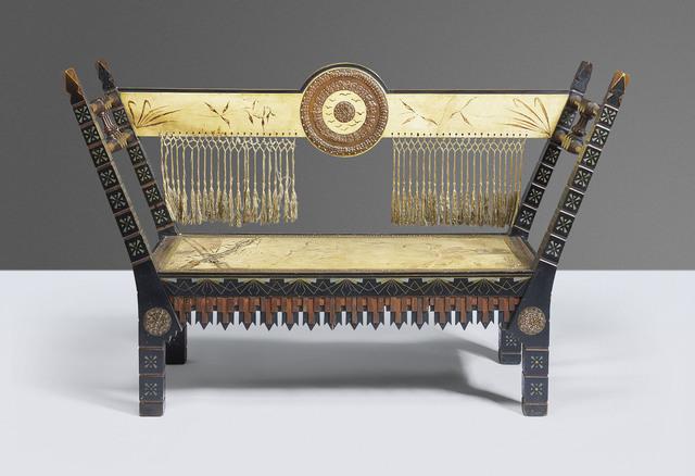 Carlo Bugatti, 'A bench', circa 1900, Christie's