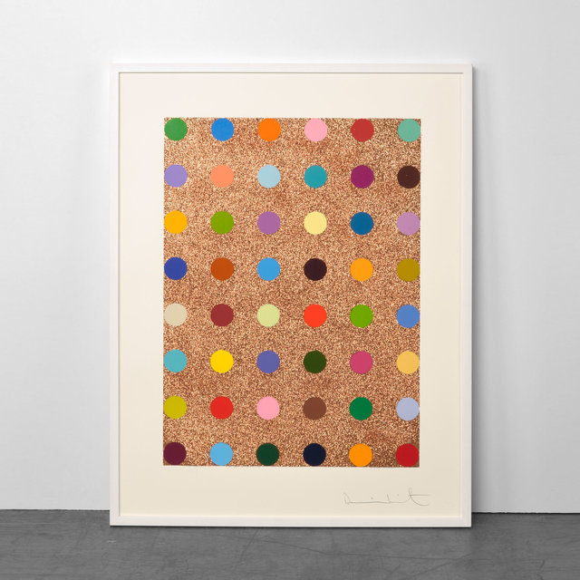 Damien Hirst, 'Carvacrol (with Bronze Glitter)', 2008, Weng Contemporary