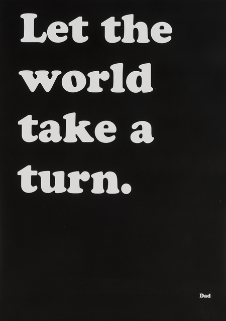 Ryan Gander, 'Let the World Take a Turn', 2018, Forum Auctions