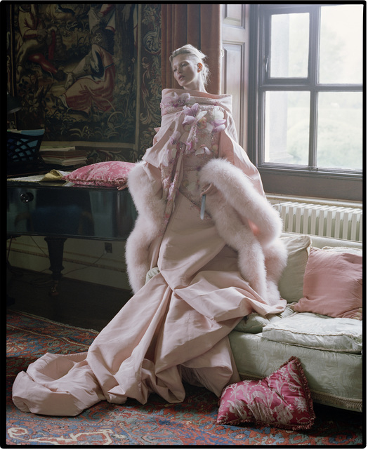 , 'Kate Moss, Fashion: Christian Dior Haute Couture. The tapestry room, Houghton Hall, 2012,' 2012, Michael Hoppen Gallery