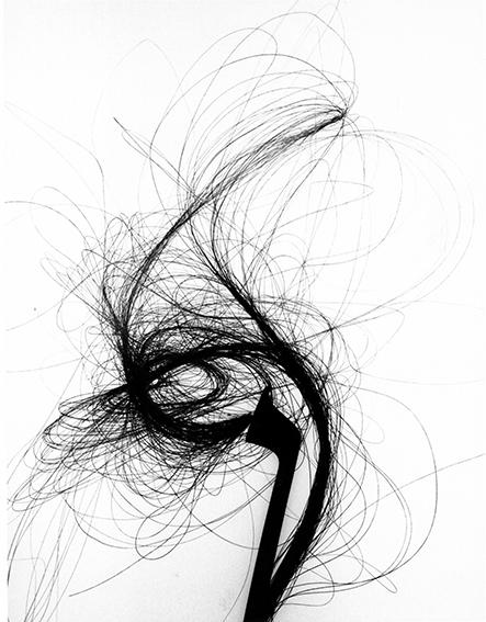 Suzie Maeder, 'Violin bow on white 5', 1994, Bernheimer Fine Art
