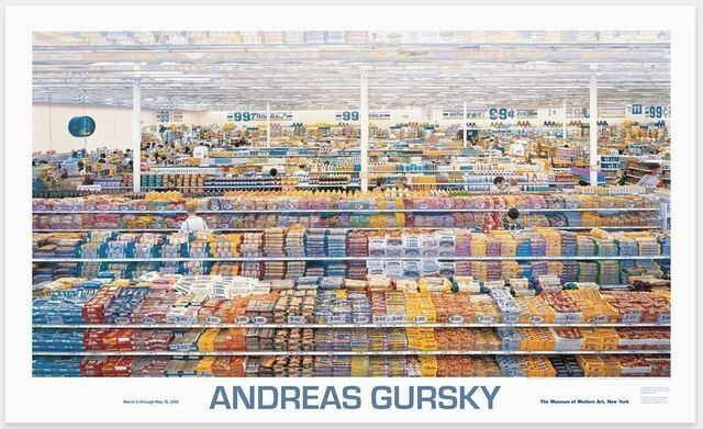 Andreas Gursky, '99 Cents', 1999, Posters, Offset lithograph in colours, artrepublic