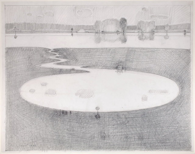 , 'River Pond,' 1970, Allan Stone Projects
