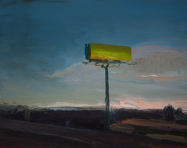 Trevor Young, 'Green Backing', 2020, Painting, Oil on panel, Addison/Ripley Fine Art