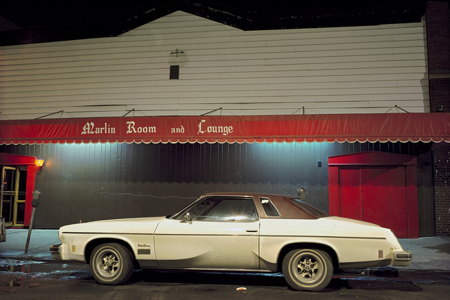 , 'Marlin Room Car, Cutlass Supreme in front of the Marlin room and Lounge, Hoboken, NJ,' 1975, Jackson Fine Art