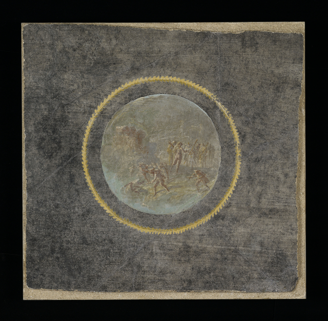 'Fresco Fragment with Herakles and Hesione',  about 70, J. Paul Getty Museum