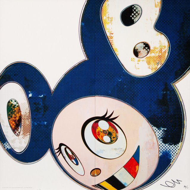 Takashi Murakami, 'And Then x6 Blue', 2013, Heritage Auctions
