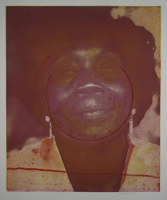 Frank Bowling, 'Mother Approaching Sixty', 2003, The Brodsky Center at PAFA