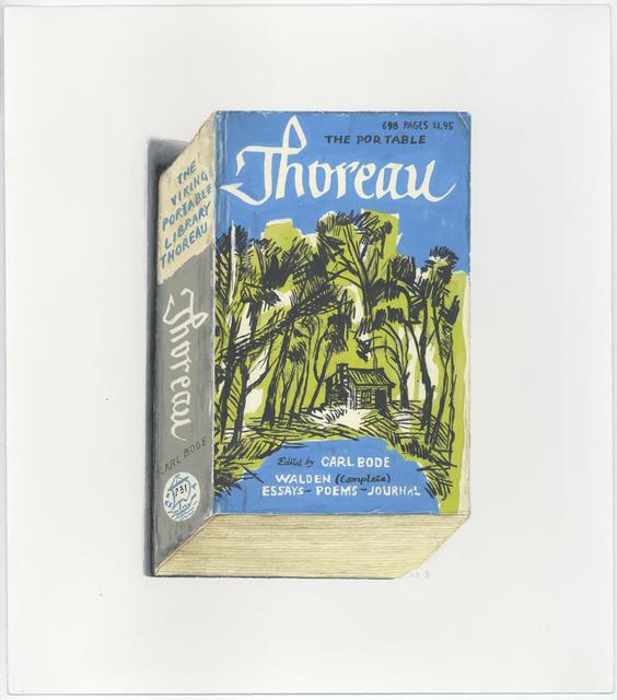 , 'The Portable Thoreau,' 2018, Albert Merola Gallery