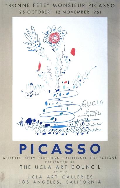 Pablo Picasso, 'Bonne Fete Monsieur Picasso', 1961, ArtWise