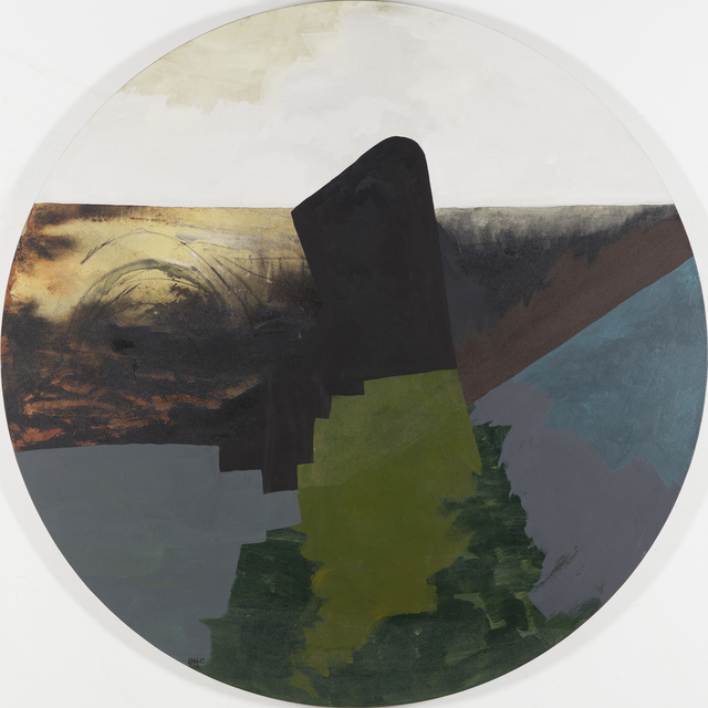 , 'Sunset and Passing Storm,' 2015, Oeno Gallery
