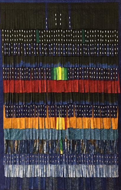 , 'Plumages (bleu - vert),' 2015, Primo Marella Gallery