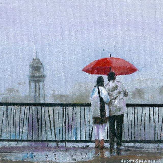 Sergi Castignani, 'Parapluie rouge', 2017, Carre D'Artistes