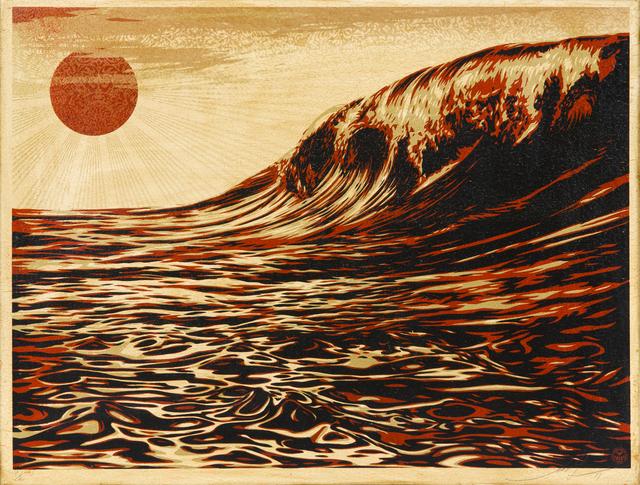 Shepard Fairey, 'Dark Wave/Rising Sun', 2011, Julien's Auctions