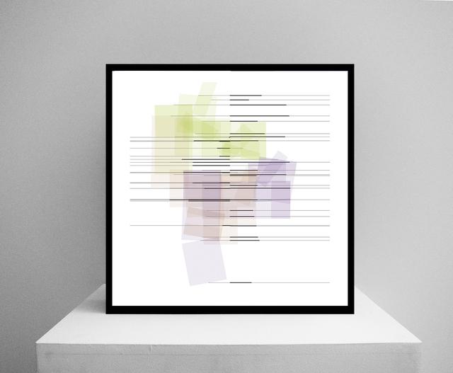 Manfred Mohr, 'P-2610_A', 2019, Video/Film/Animation, Custom software (color, silent), EIZO screen, Mac mini, bitforms gallery