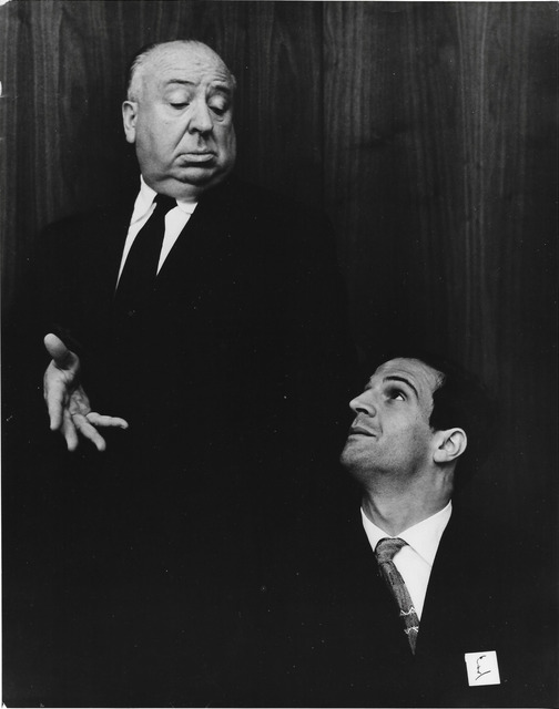 , 'Alfred Hitchcock and Francois Truffaut,' 1962, °CLAIR Galerie