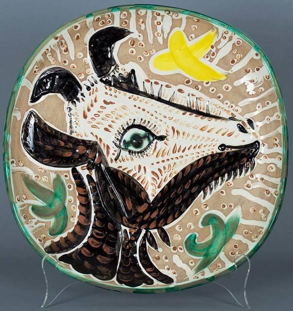 Pablo Picasso, 'Tete de chevre de profil (Goat's Head in Profile)', 1952, Masterworks Fine Art