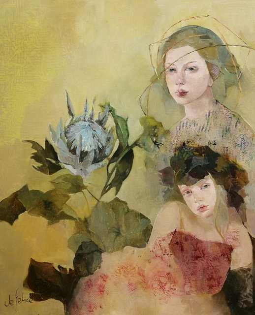 Françoise de Felice, 'Lotus', 2019, Galerie Calderone