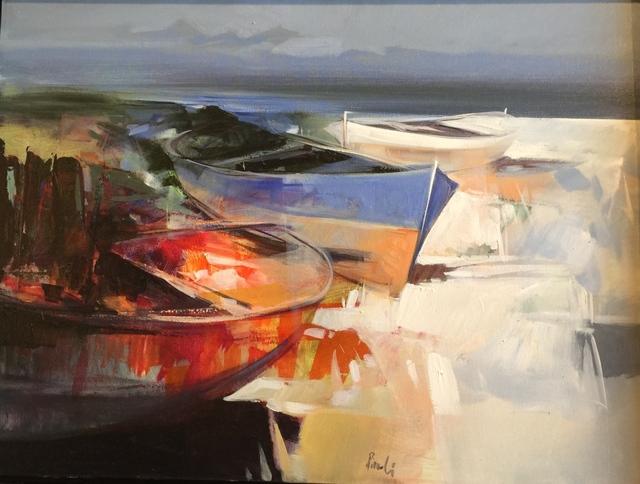 , 'Boats in Sintino, Sardinia,' , Cosmopolitan Fine Arts