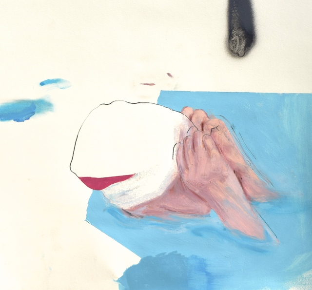 , 'Swimming Cap,' 2017, Robert Kananaj Gallery