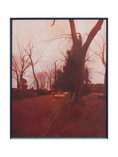 , 'Passeggiata rossa (Cascine),' 2018, Galleria Giovanni Bonelli