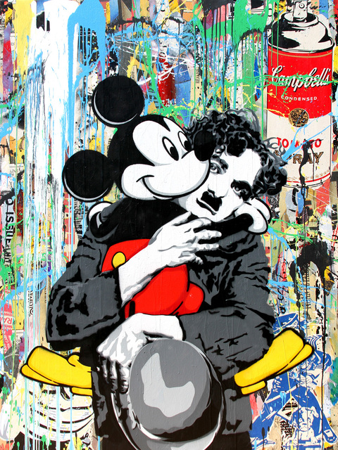 , 'Chaplin and Mickey,' 2012, Art Of The World Gallery
