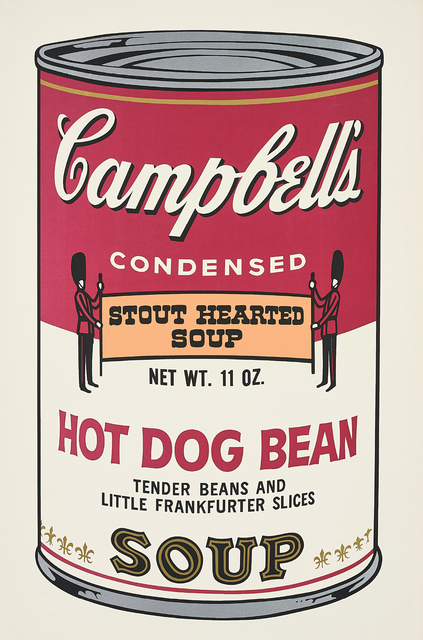 Andy Warhol, 'Hot Dog Bean, from Campbell's Soup II', 1969, Phillips