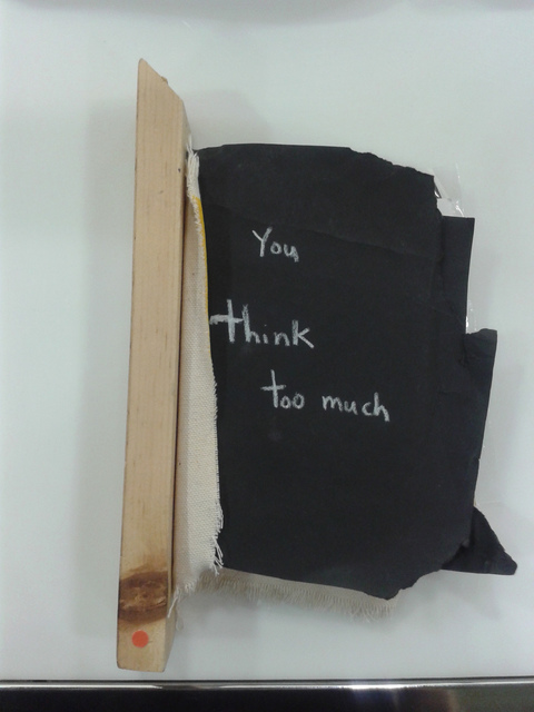 , 'Book (You Think Too Much),' 2013, Robert Kananaj Gallery