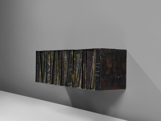 Paul Evans (1931-1987), 'Deep Relief Cabinet ', ca. 1972, Design/Decorative Art, Steel, wood, MORENTZ