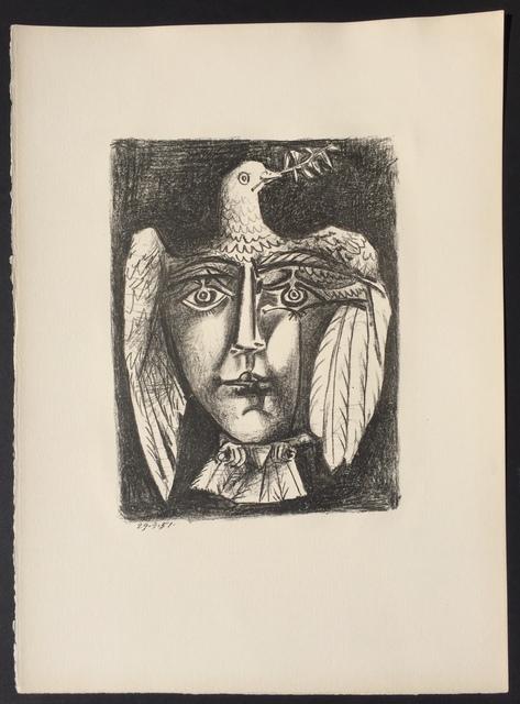 Pablo Picasso, 'Le Visage de la Paix', 1951, Denis Bloch Fine Art