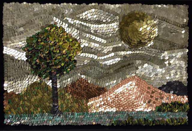 , 'Silver Sky,' 2016, Adelson Cavalier Galleries
