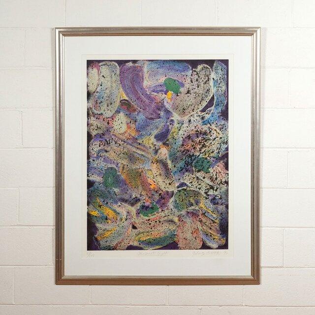 Jules Olitski, 'Mozart Night', 1992, Print, Screenprint in colors on wove paper, Caviar20