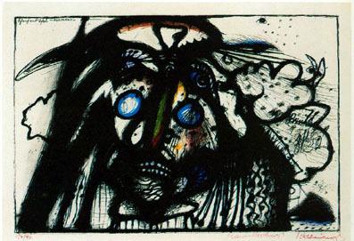 , 'Scheich und Schal - Nosferatu (Wahnhall XX),' 1967, Mario Mauroner Contemporary Art Salzburg-Vienna