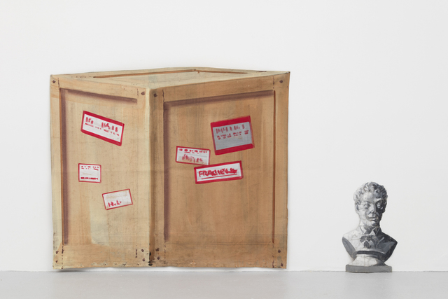 , 'Backstage, barn bust, crate medium,' , Casey Kaplan