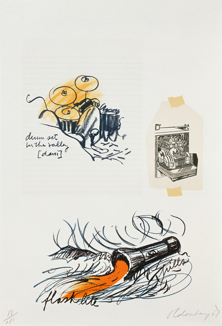, 'Notes, Untitled (Drum Set),' 1968, Gemini G.E.L.