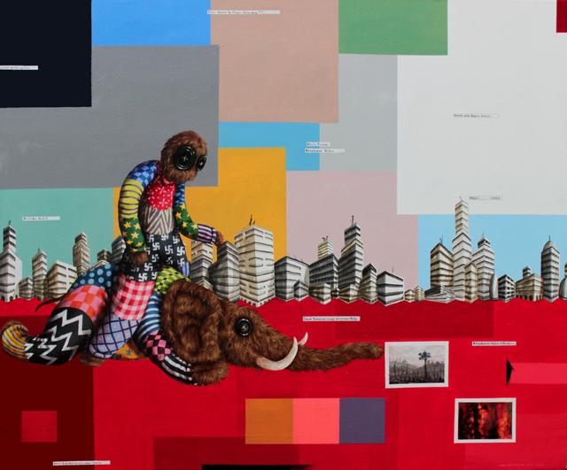 , 'Lahan Merah (Red Field),' 2018, Redbase Art