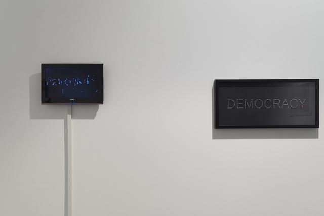 , 'Democracy,' 2017, Acervo – Contemporary Art