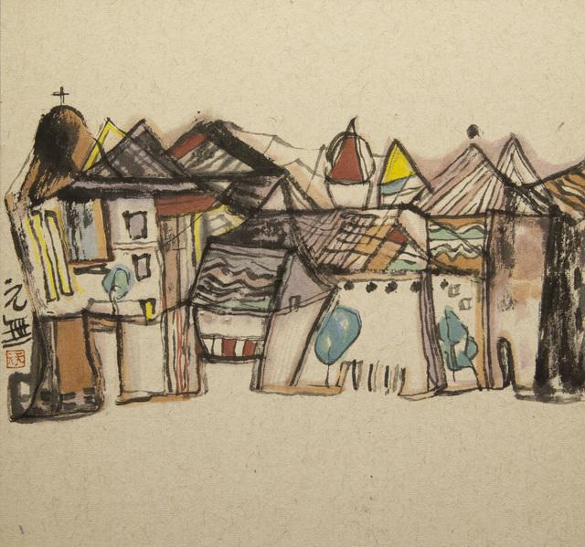 Yuan Wu Zheng  郑元无, 'A Quiet Little Town', 2014, White Space Art Asia