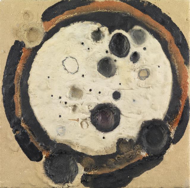 Reinhold Koehler, 'Sandbild', 1959-1960, Mixed Media, Mixed media on canvas, Whitford Fine Art