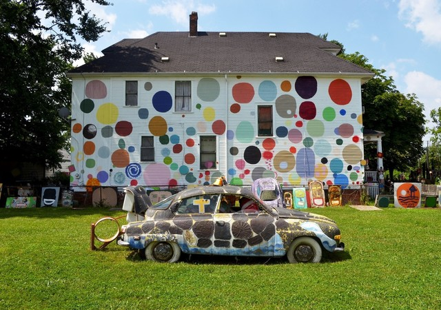 , 'The Dotty Wotty House,' , The Heidelberg Project
