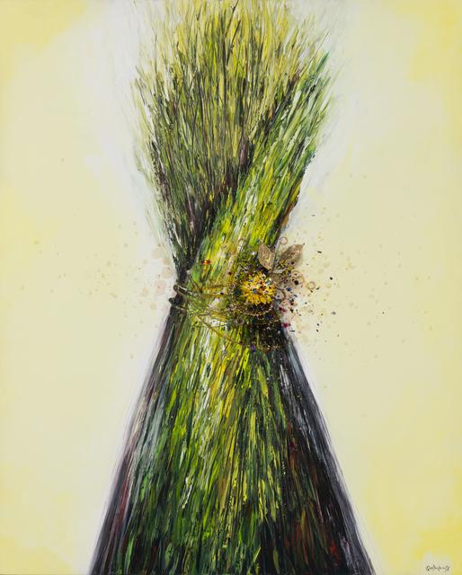 Quetzalcoatl, 'Regalo de la naturaleza I', 2007-2020, Painting, Acrylic + industrial varnish on canvas, Biaggi & Faure Fine Art