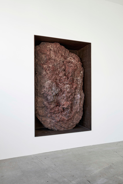 , 'Scoria Negative Wall Sculpture,' 2016, Gagosian