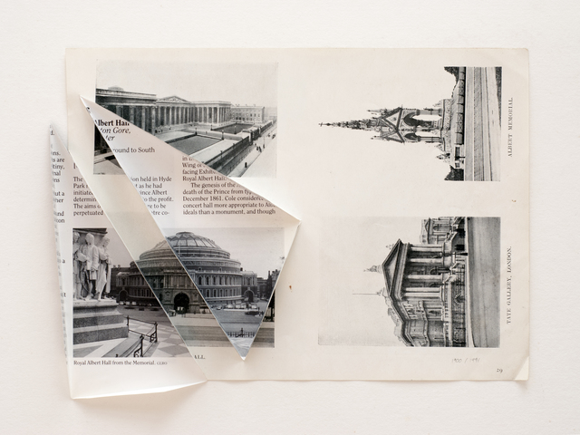 , 'The Royal Albert Hall 1900 / 1991,' 2014, Parafin