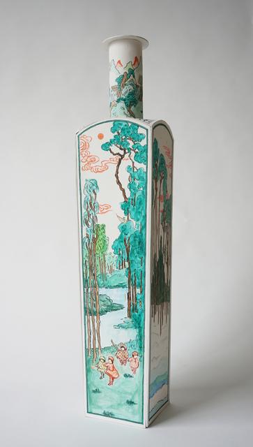 , 'Famille verte — Québec (After Anne Savage),' 2018, Galerie Hugues Charbonneau