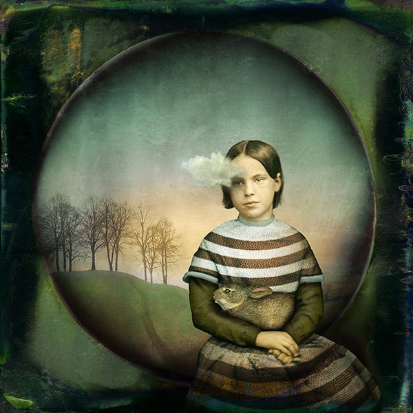, 'Girl With A Small Cloud,' 2012, Pictura Gallery