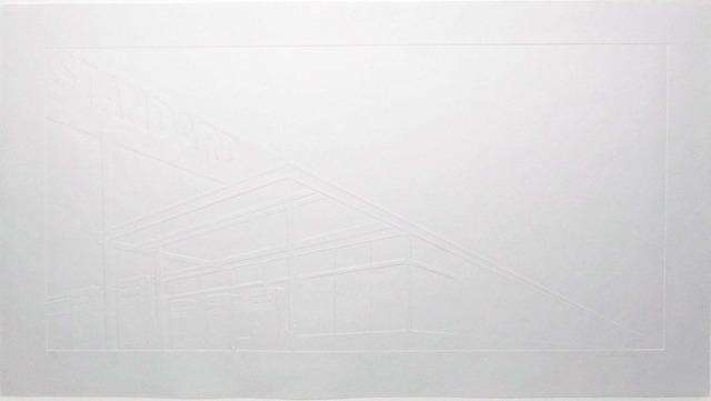 Ed Ruscha, 'Ghost Station', 2011, Upsilon Gallery