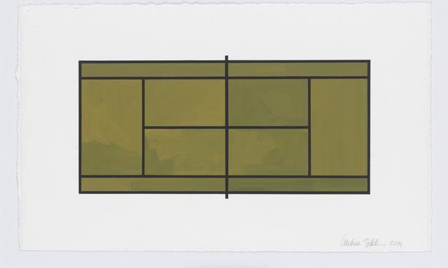 , 'Court #1,' 2014, New Art Centre