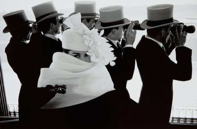 Frank Horvat, 'Givenchy Hat C, For Jardin Des Modes, Paris', 1958; printed later, Dallas Collectors Club