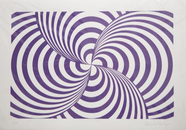 Victor Debach, 'Purple Composition', 1970, Print, Serigraph, Friends Seminary Benefit Auction